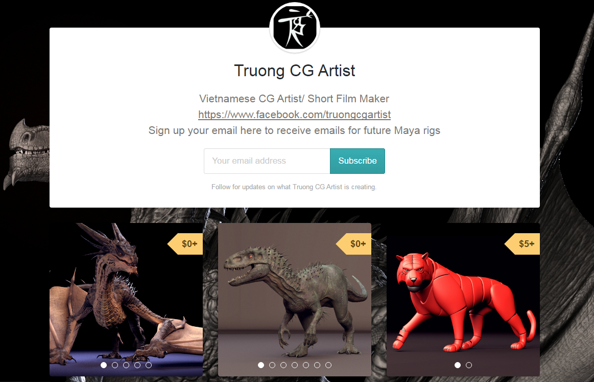 Dragon – Making Of by Truong – zbrushtuts