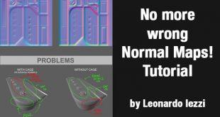 No more wrong Normal Maps! Tutorial by Leonardo Iezzi