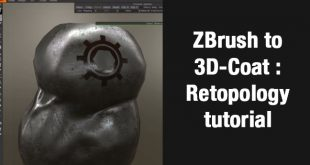 ZBrush to 3D-Coat : Retopology tutorial