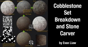 Cobblestone Set Breakdown and Stone Carver by Evan Liaw