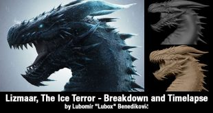 "Lizmaar, The Ice Terror – Breakdown and Timelapse by Lubomír ""Lubox"" Benedikovič"
