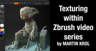 Texturing within Zbrush video series by MARTIN KROL