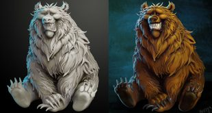 Bear speed sculpt by Olya Anufrieva