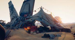 Desert campsite – UE4 by SANDER VANDER MEIREN