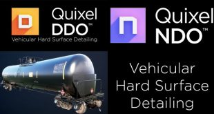 Vehicular Hard Surface Detailing using Quixel DDO and NDO by Jonathan Holmes