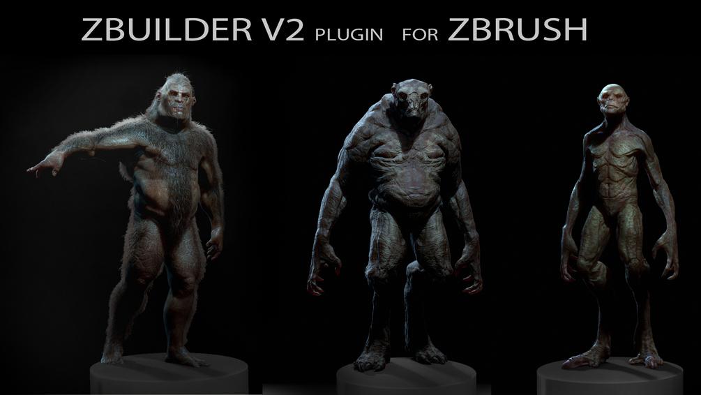 Human Zbuilder v2 for Zbrush by Tsvetomir Georgiev – zbrushtuts