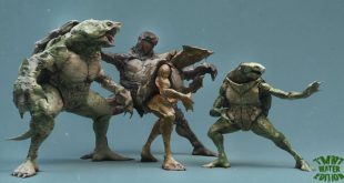 TMNT 3D Art by Mickael Lelièvre