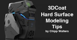 3DCoat Hard Surface Modeling Tips by Chipp Walters