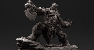 Warcraft Durotan 3D Art by E LEE