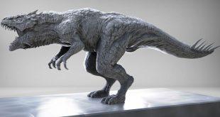 Dinosaur Speed Sculpt by keita okada
