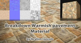 Breakdown – Warmish pavement Material by Ibrahim Lancoln