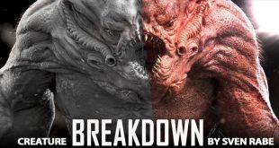 Creature Breakdown by Sven Rabe