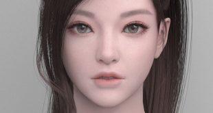 Top 3 Girl 3D Art by Myunghyun Choi