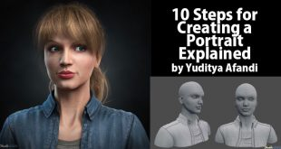 10 Steps for Creating a Portrait Explained by Yuditya Afandi