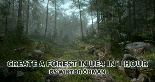 Create a Forest in UE4 in 1 Hour by Wiktor Öhman
