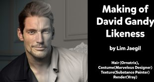Making David Gandy Likeness by Lim Jaegil