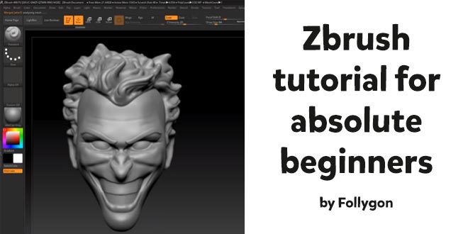 Zbrush tutorial for absolute beginners by Wekster – zbrushtuts