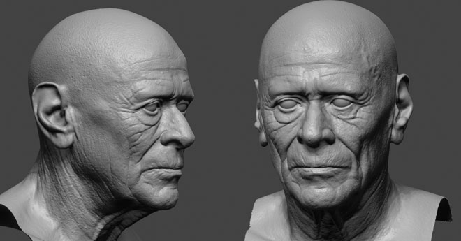 A realtime portrait – MAKING OF – TUTORIAL by Glauco Longhi
