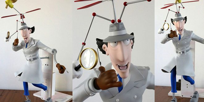 Inspector Gadget 3d Art And 3d Print By Stephane Faure Zbrushtuts