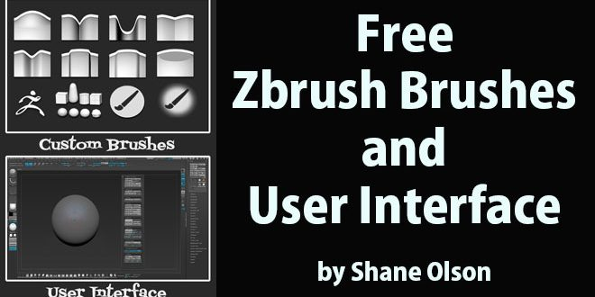Free Zbrush Brushes and UI by Shane Olson – zbrushtuts