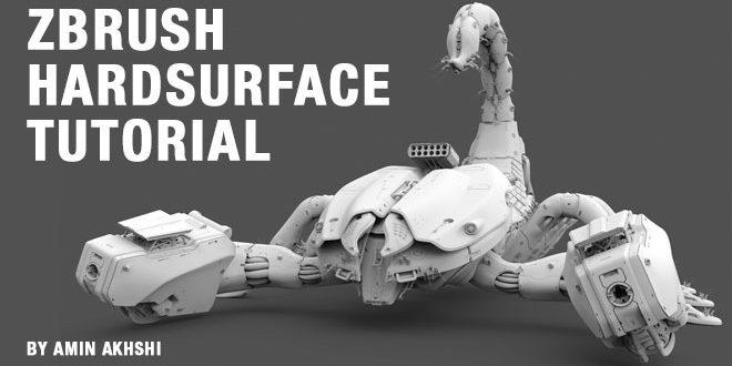ZBrush Hardsurface Tutorial by Amin Akhshi – zbrushtuts