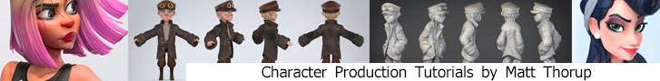 Character Production Tutorials by Matt Thorup