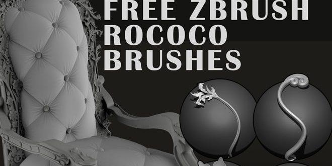 Free Zbrush Rococo Brushes by Paul Bannon – zbrushtuts