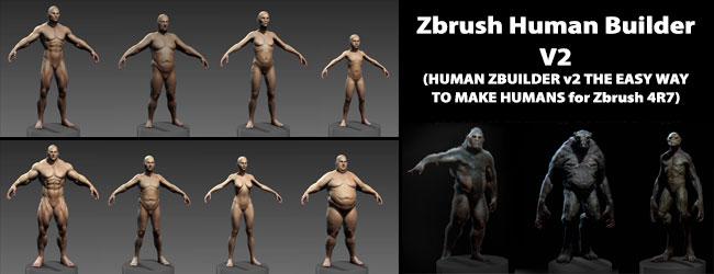 Zbrush Human Zbuilder V2
