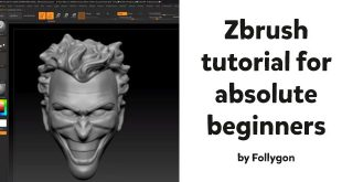 Zbrush tutorial for absolute beginners by Wekster