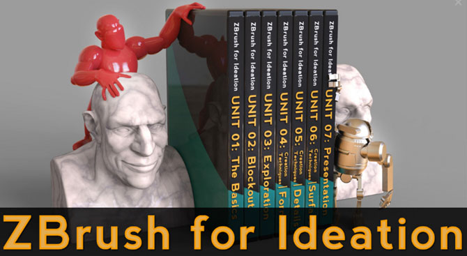 ZBrush for Ideation 250+ Video Series by Michael Pavlovich