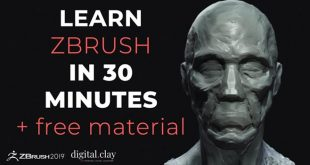 Learn Zbrush in 30 minutes by digitalClay